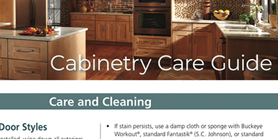 Cabinetry Care Guide