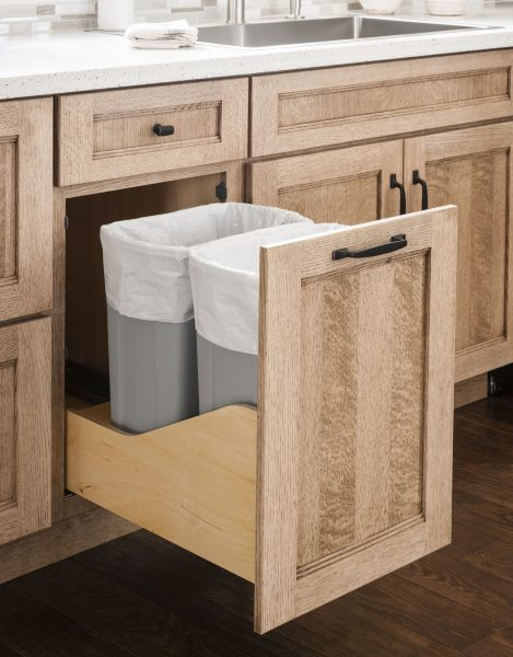 Waste Recycling And Compost Solutions, Kitchen Cabinet Trash Can Inserts