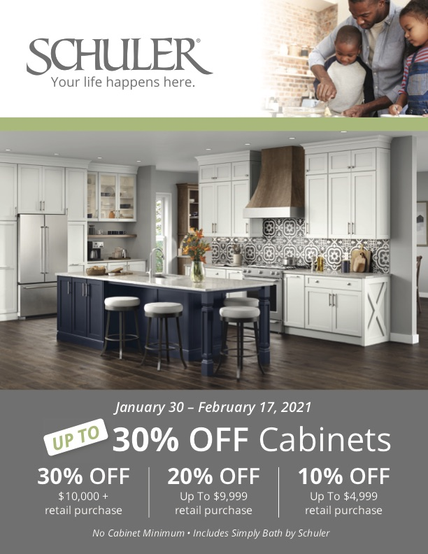 Kitchen Cabinets And Vanities Are On Sale At Lowe S Schuler Cabinetry